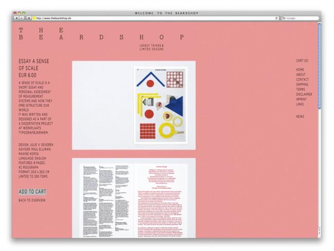 THE BEARDSHOP - Online Store / Internetseite