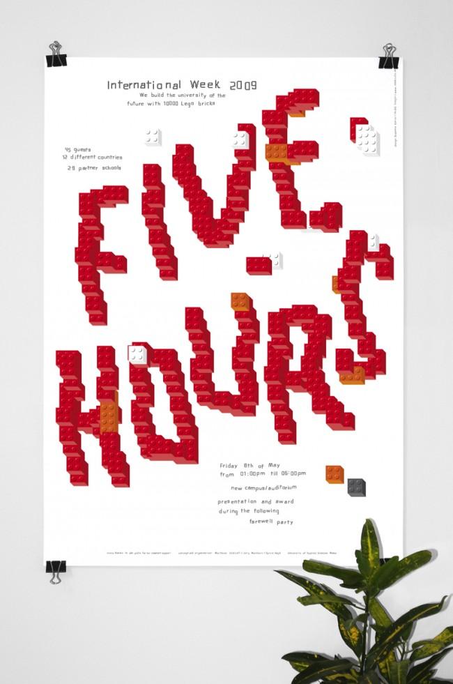 FIVE HOURS / Poster – International Week