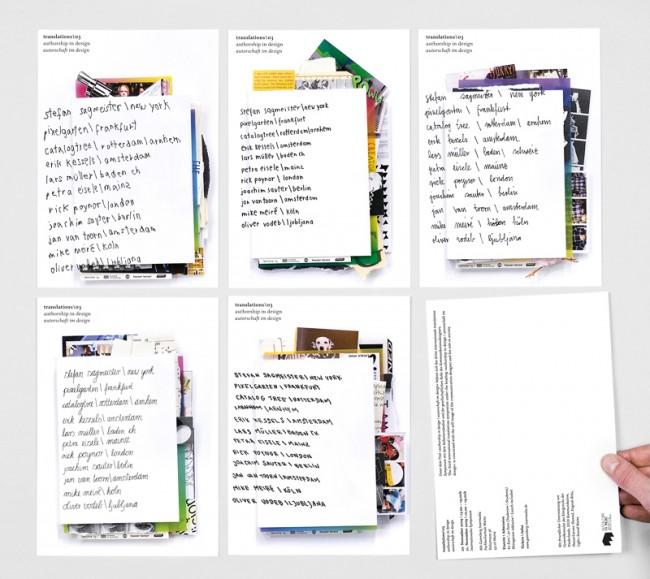 TRANSLATIONS03\SYMPOSIUM / Flyerpostkarten