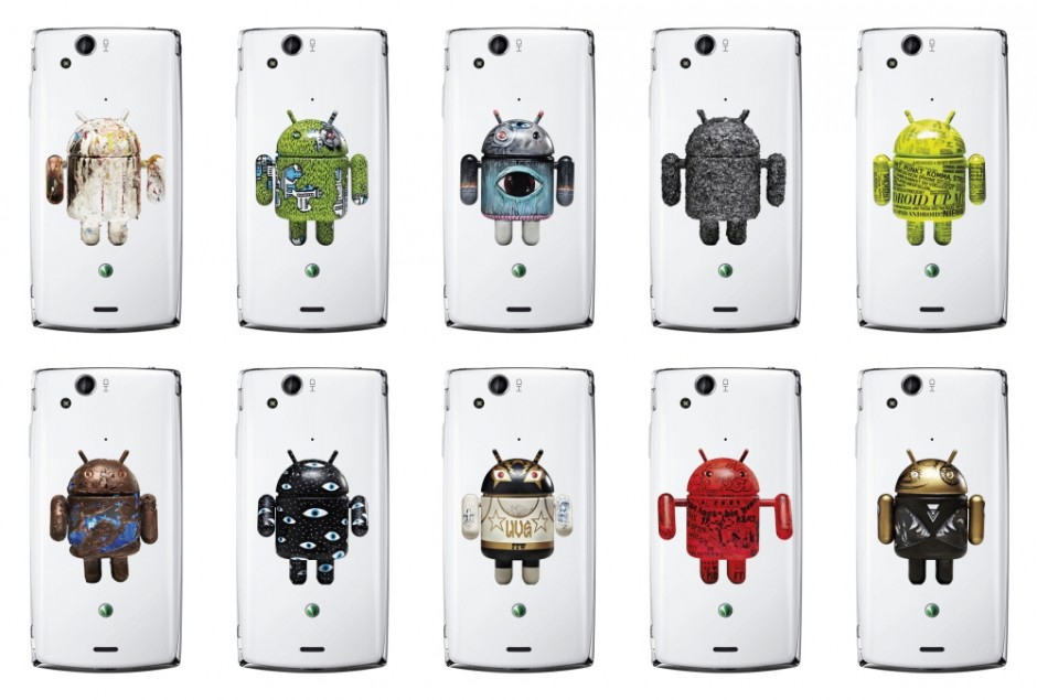 Sony Ericsson Droid Backcover