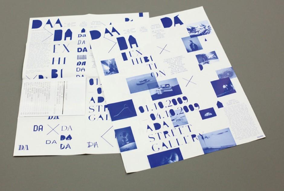 DAADada - Ausstellungsplakate und Katalog für die Ausstellung »DAADada« – DAAD-Stipendiaten, London