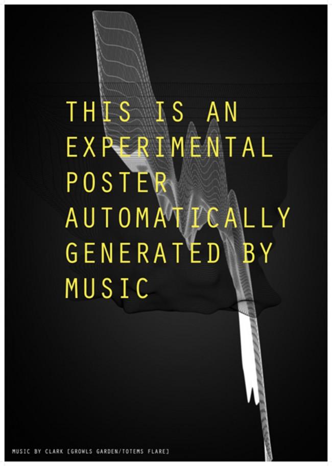Freie Arbeit: Generated Poster