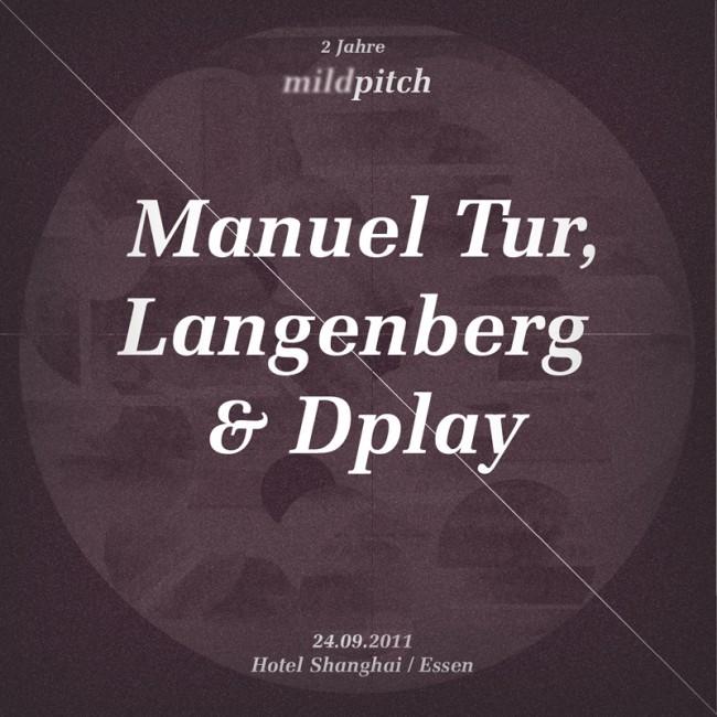 Corporate Design für das elektronische Musiklabel »mildpitch«