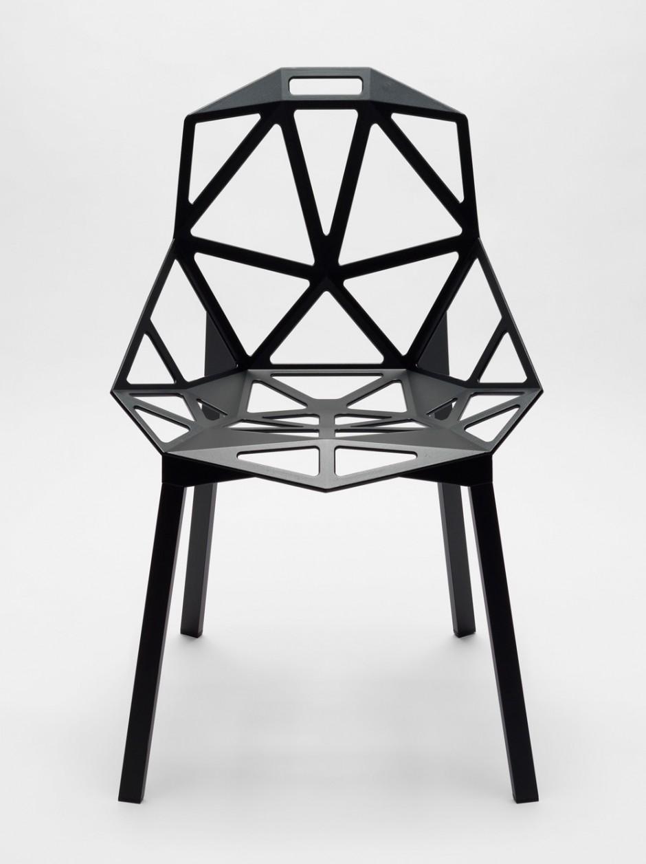 Konstantin Grcic | Chair_One, 2004, Museum für Gestaltung Zürich, Designsammlung, Foto: fxjaggy/u.romito, © ZHdK