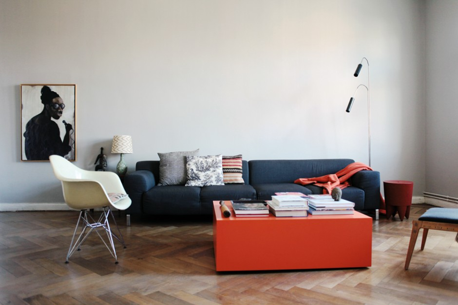 Wohnzimmer - Olaf Hajek