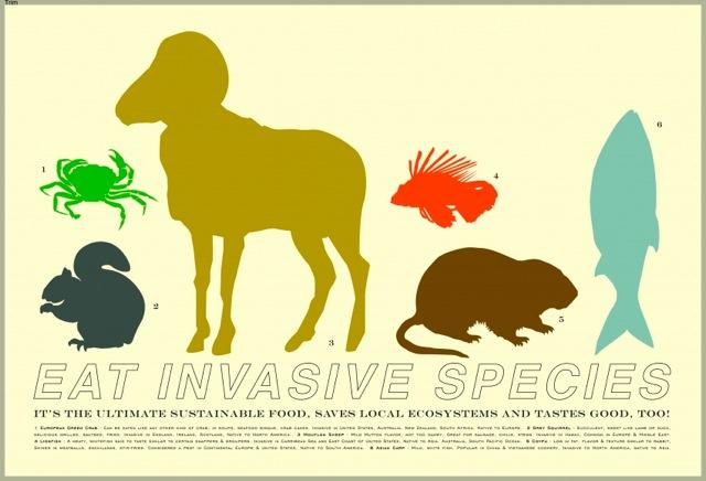 »Eat Invasive Species!« |  Laurie Sumiye