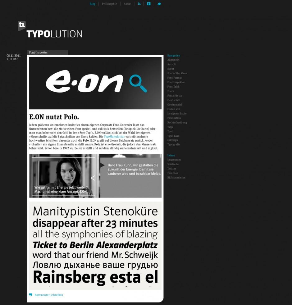 TYPOLUTION.de | FF Unit Slab, FontFont