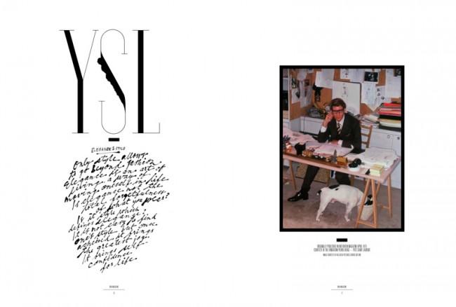 »Yves Saint Laurent«