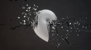 Motion Art: Simon Fiedler »Droplets«, Fachhochschule Mainz