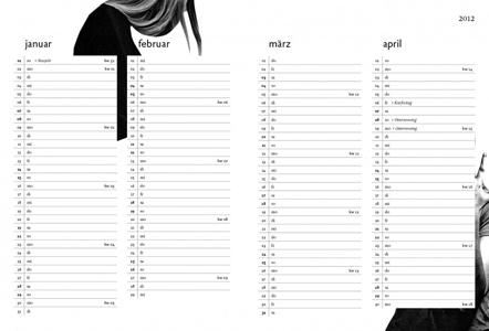 Bild Gudberg Kalenderbuch 2012