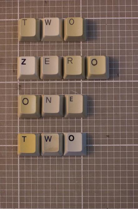 Bild Typographic Calendar