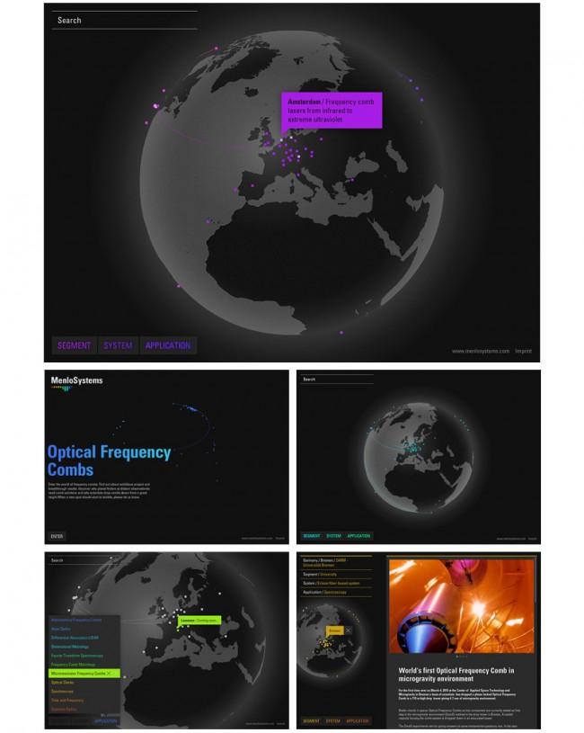 Menlo Systems – Menlo Globe (www.frequencycomb.com)