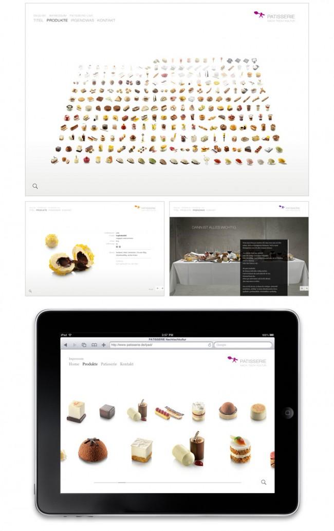 Patisserie – Website (www.patisserie.de)