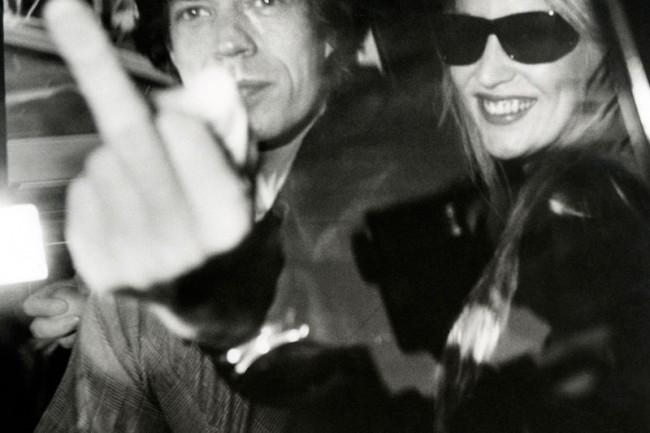 Mick Jagger und Jerry Hall