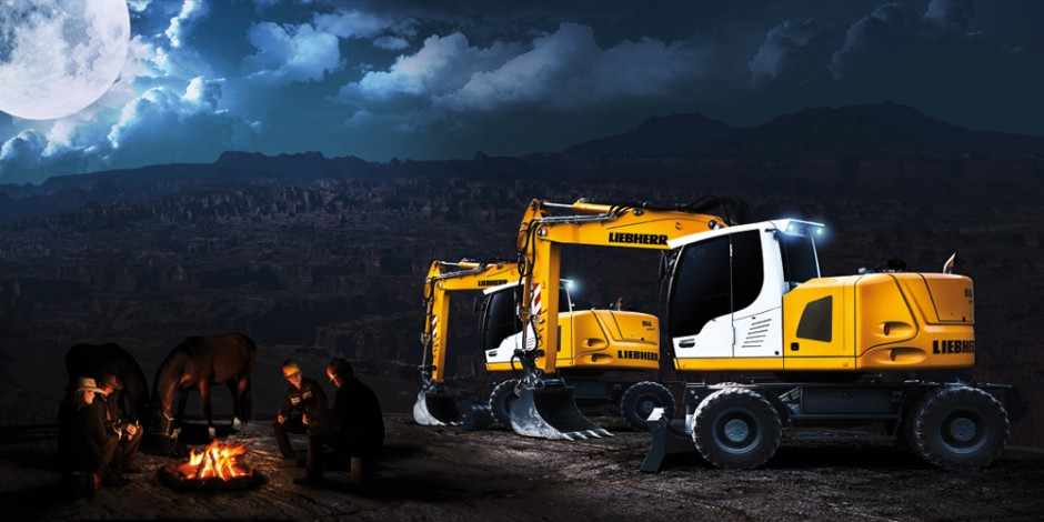 bauforum24.biz: »Heavy Equipment 2012«, Liebherr-A-914-Compact-&-A-918-Compact