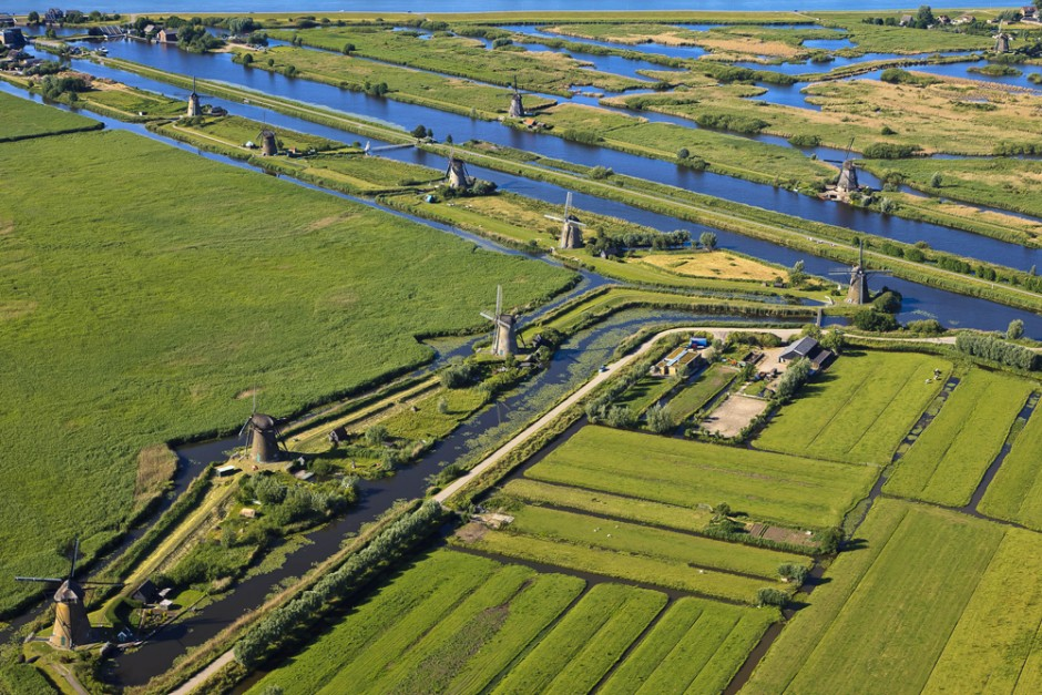Kinderdijk, Zuid Holland, 2009