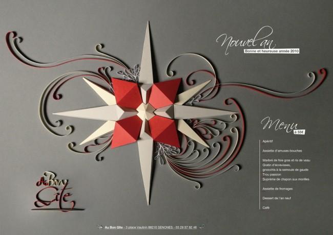 Christmas Star: Weihnachts- und Silvestermenü für Au Bon Gîte von Zim & Zou