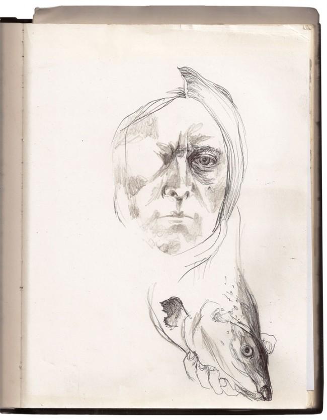 Sarah Lucas Fish