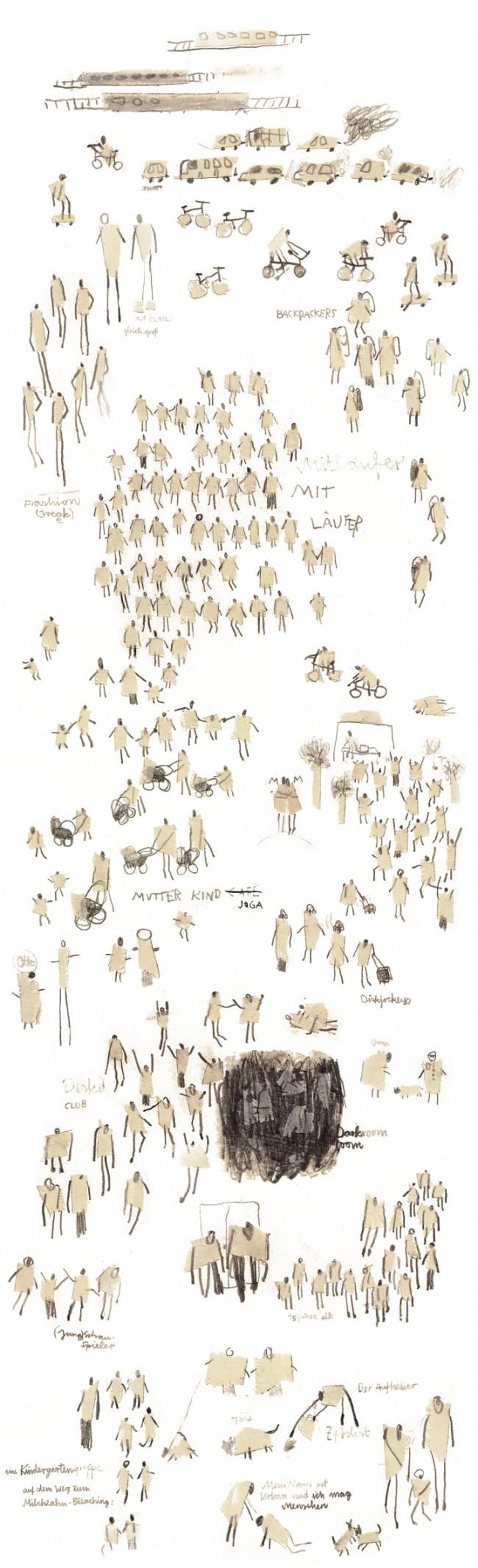 Urbane Menschen