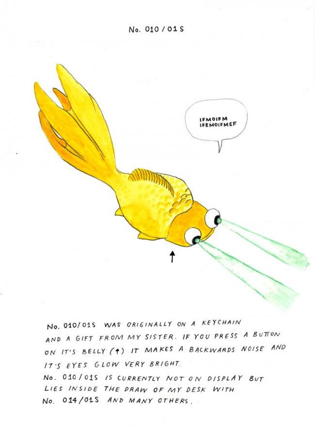 Creatures 010/01S, der Fisch, der die Wahrheit kennt