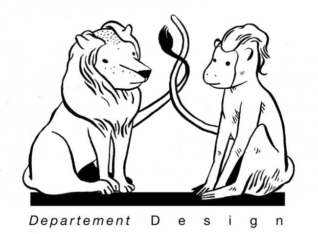 Logo (Departement Design) für Zürcher Hochschule der Künste