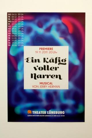 Plakat Käfig