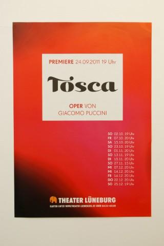 Plakat Tosca