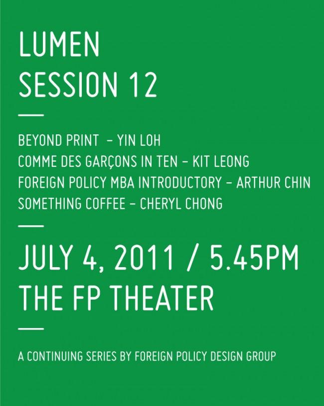 Lumen Session 12