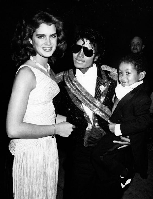 Brooke Shields, Michael Jackson und Emmanuel Lewis