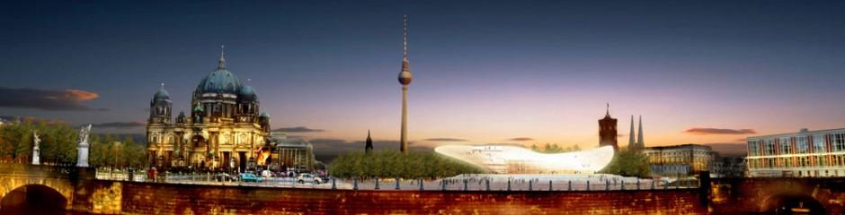 Art Cloud, Temporäre Kunsthalle, Schloßplatz, Berlin, Entwurf: 2006
