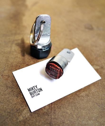 Bild Mikey Burton Stamp