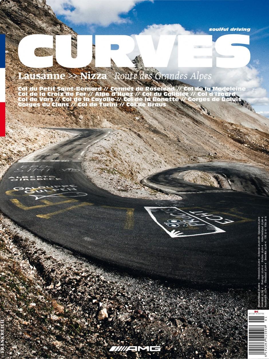 Kategorie Marketingkommunikation: CURVES Magazin; Kunde: Mercedes AMG GmbH; Einsender: Factor Product GmbH