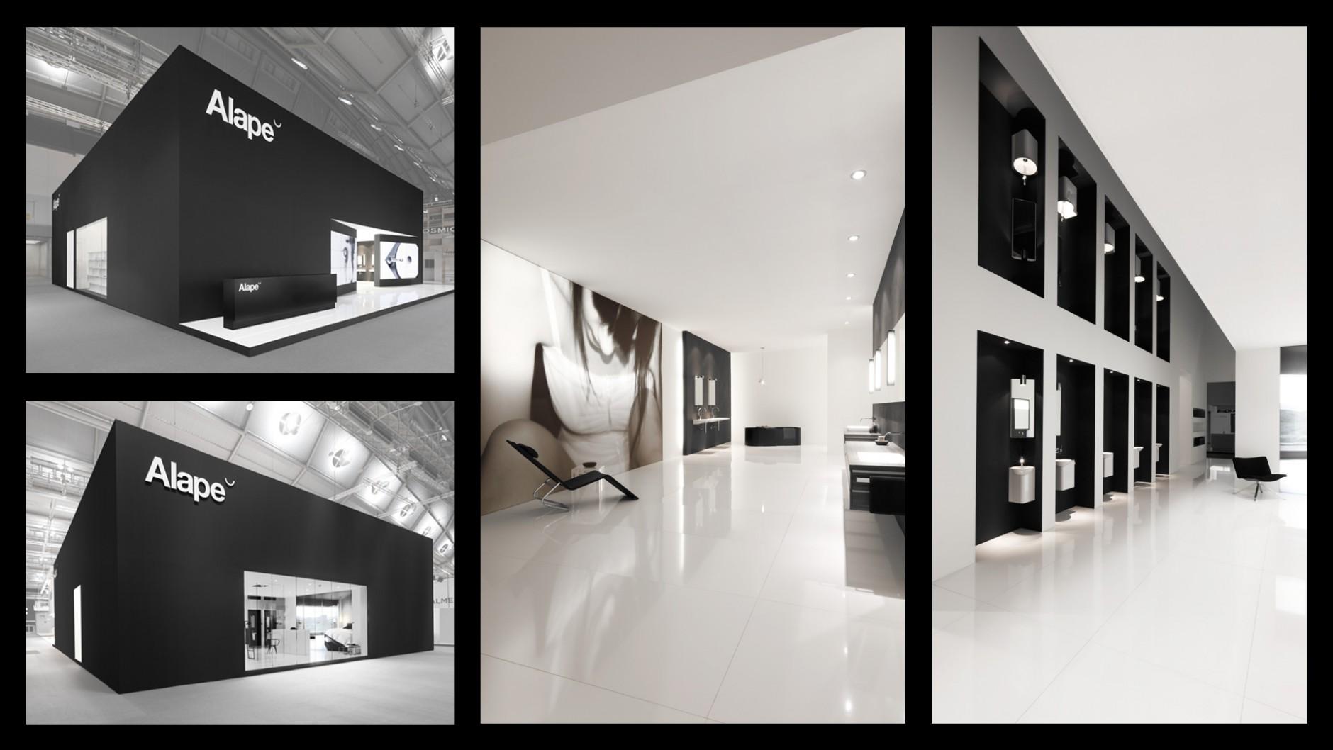 Kategorie Raum/Architektur: Alape Messestand 2011; Kunde: Alape GmbH; Einsender: Martin et Karczinski