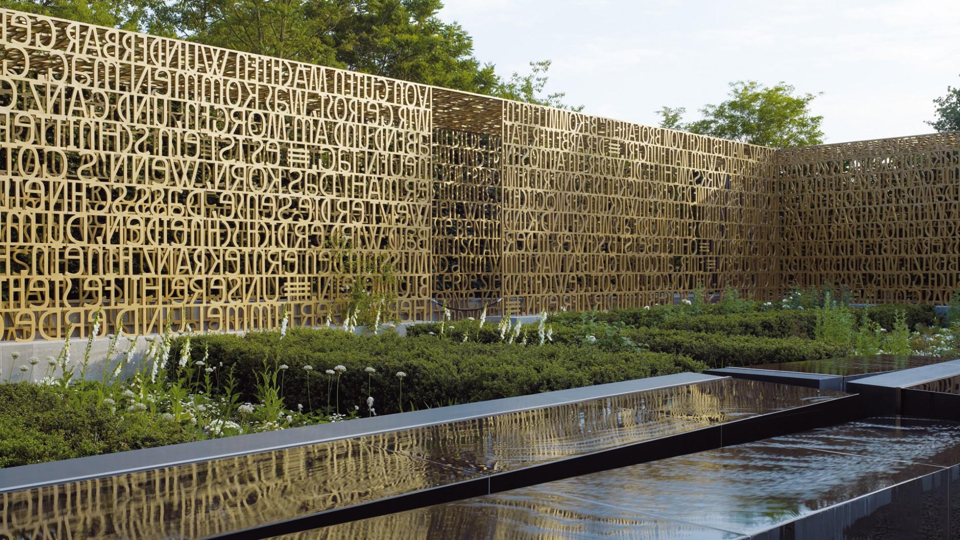 Kategorie Raum/Architektur: Der geschriebene Garten; Kunde: Land Berlin vertreten durch die Grün BErlin GmbH Land Berlin; Einsender: relais Landschaftsarchitekten