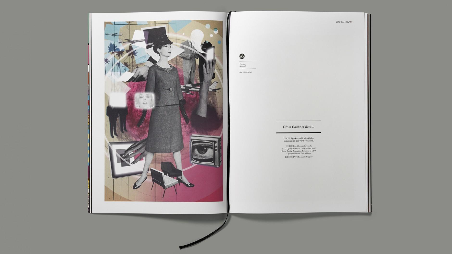 Kategorie Unternehmenskommunikation: HOWTo Magazine II; Kunde: Ogilvy Deutschland; Einsender: Ogilvy Frankfurt