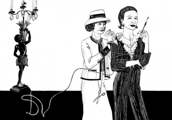 Chanel und Vreeland, freie Arbeit zu D.V. von Diana Vreeland, 2005