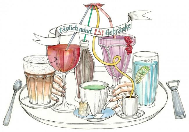 Getränke, Ernährungsserie, Hamburger Abendblatt, 2011