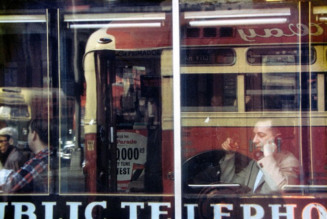 Saul Leiter: Phone Call, ca. 1957