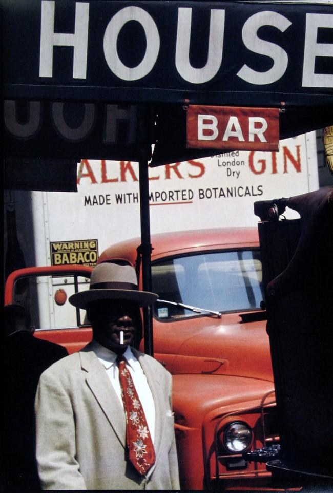 Saul Leiter: Harlem, 1960
