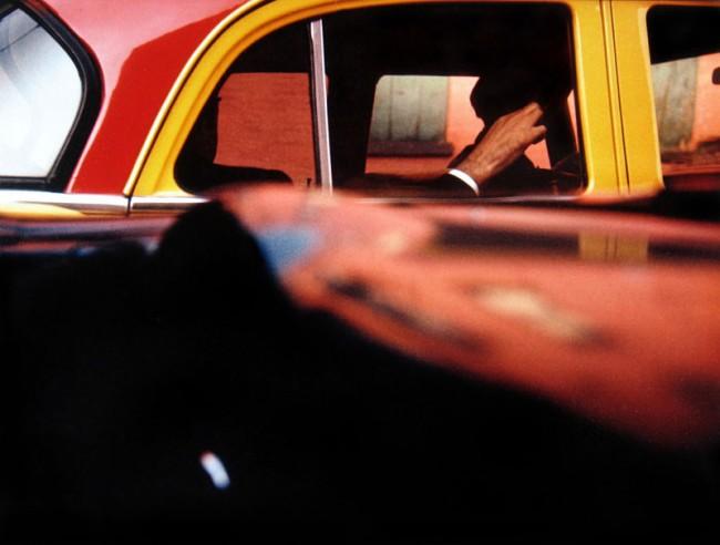 Saul Leiter: Taxi, ca. 1957