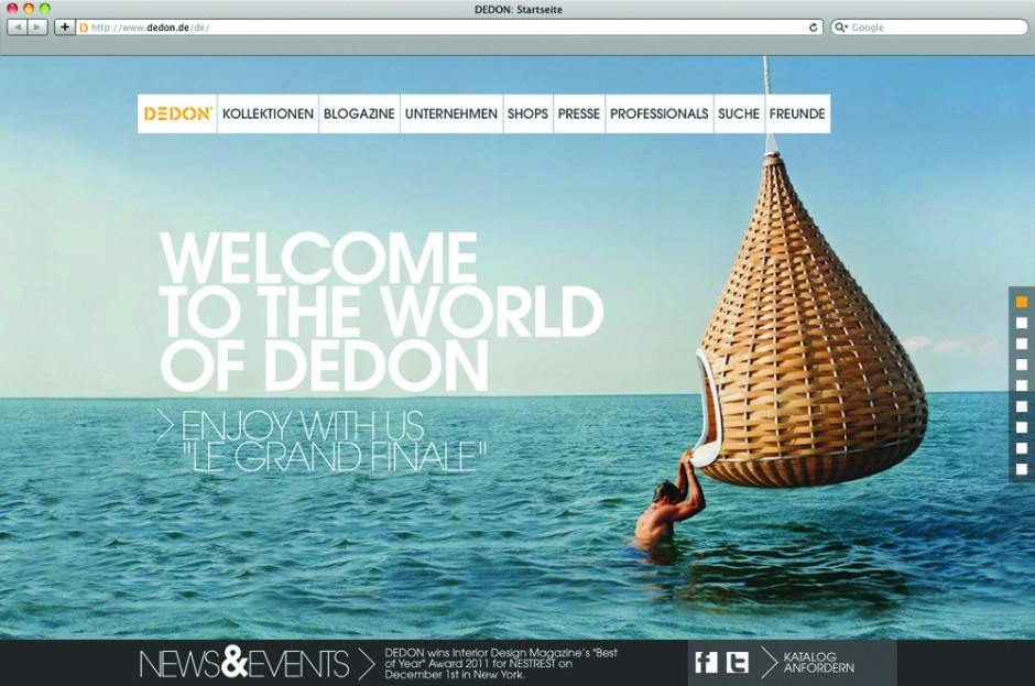 Dedon-Startseite