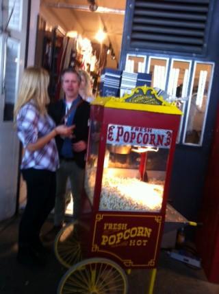 ... und das Popcorn gibt es dazu.