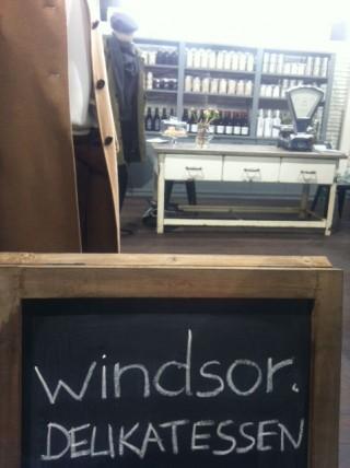 Windsor verbindet Mode mit kleinen delikaten Häppchen und Landstore-Flair