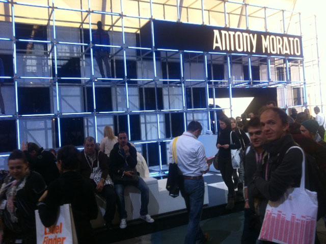 Erstmals auf der b&b vertreten: das italienische Label Antony Morato, das Mode für junge Männer entwirft