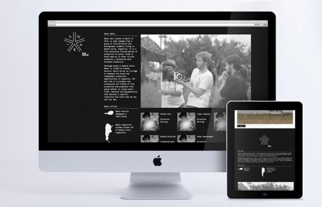 NABIS – nabisfilm.com, About-Sektion