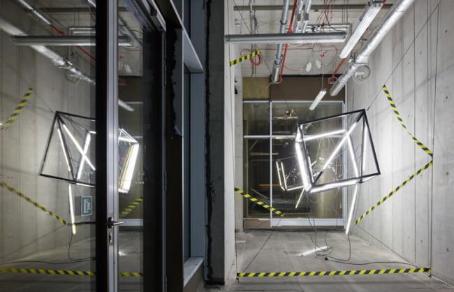 Hypermarché – »Cube«, Rauminstallation