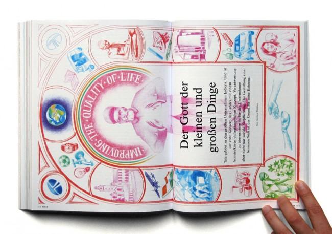 Illustration »Buch der Fragen«