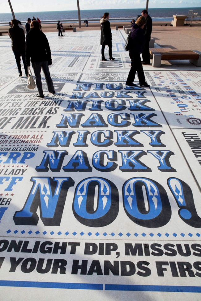 Comedy Carpet, Blackpool | Gordon Young and Why Not Associates