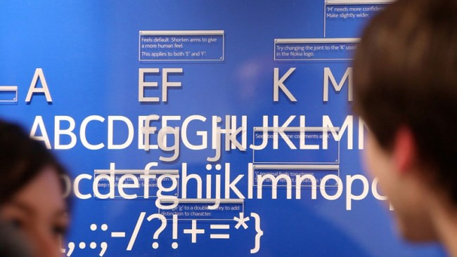 Nokia Pure Font, London, UK | Dalton Maag