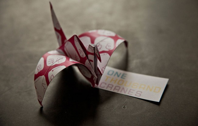 One Thousand Cranes for Japan | Concept by Anomaly and Unit 9, London, UK
